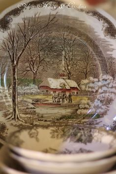Aiken House and Gardens Friendly Village!  Using at the cottage for the Christmas season.