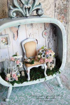 My handmade room box