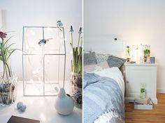 Wie Du dein Zimmer frühlingshaft einrichtesz und dazu noch ein DIY Kissenbezug zauberst, zeigt Dir @ichliebedeko in Ihrem Blog-Beitrag auf www.schoen-bei-dir.com.