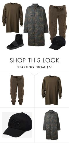 """Untitled #3"" by eimantestalionyte on Polyvore featuring Y-3, adidas Originals, adidas, mens, men, men's wear, mens wear, male, mens clothing and mens fashion"