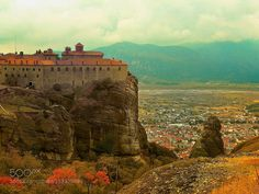 Meteora - Pinned by Mak Khalaf Travel  by Sevdi4a