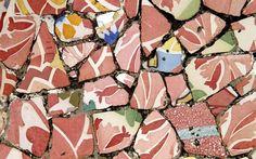 Gaudi Mosaic     ----   Arq. Antoni Gaudí (25 de junio 1852, Reus -10 de junio 1926, Barcelona) España.