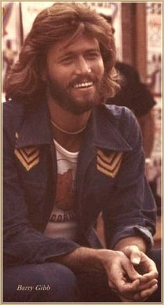 If I had to meet one celebrity. This is who it would be.. I've loved the BeeGees and Barry Gibb  forever!  He is Beautiful.