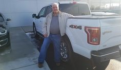 Ron and Ronald, we hope you enjoy your new 2017 FORD F-150.  Congratulations and best wishes from Kunes Country Ford Lincoln of Delavan and AARON A-KLOSTERMAN.