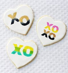 Opening Ceremony Blog: Jewels of New York: Valentine's Day Stencil Cookies