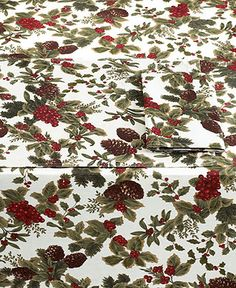 Lauren Ralph Lauren Table Linens, Birchmont Collection - Holiday Entertaining - for the home - Macy's