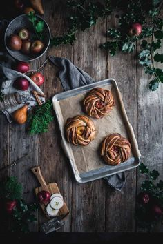 Inspiration: Christmas Bread Wreath