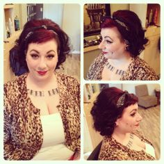 hair and makeup by Lexi Whitewall bodysalon Retro Hairstyles, Hair Makeup, Hair Styles, Retro Hair