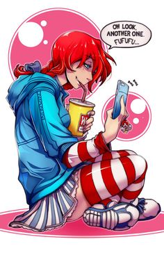 Smug Wendy's by NiandNi | Smug Wendy's | Know Your Meme