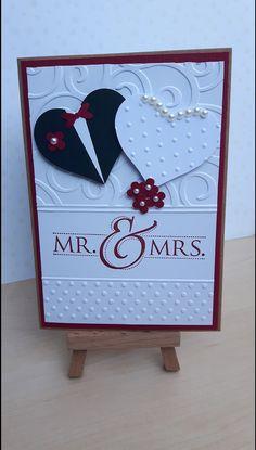 Wedding card - wedding cards - wedding - handmade with love in Hürth, D . - Wedding Card – Wedding Cards – Wedding – Handmade with love in Hürth, Germany by Perlen-stue - Invitation Cards, Wedding Invitations, Wedding Anniversary Cards, Card Wedding, Diy Design, Wedding Cards Handmade, Paper Crafts, Diy Crafts, Homemade Cards