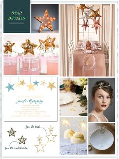 DECORATIONS - DRESS UP! - INVITATION IDEA.... REVEL: Star Details