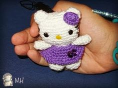 Llavero Amigurumi Mini Hello Kitty