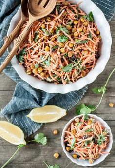 Recipe: Carrot Tahini Salad
