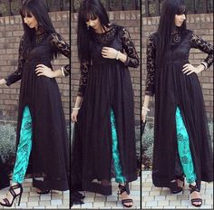 The stylish Rumena Pakistani Dresses, Indian Dresses, Indian Outfits, Rumena Begum, Frock For Women, Afghan Dresses, Kurta Designs, Dress Designs, Desi Wear