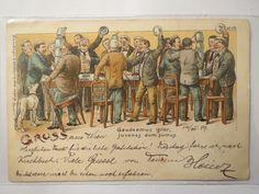 Gaudeamus Igitur 1899 § 11 Gruss AUS Wien Studentika   eBay