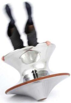 Spinny Top Seating : Thomas Heatherwicks Spun Chair
