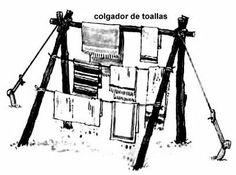 Scout mas allá de las Fronteras: Construcciones 3º parte (instalaciones)