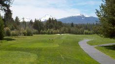 FORE! - Father's Day weekend golf at Black Butte, with a view of Sisters