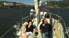 Barco à vela no Douro