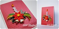 Red Fantasy Christmas Card For more beautiful Cards please visit: http://sweetiehandmade.blogspot.ro/