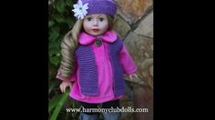 18 inch Dolls by Harmony Club Dolls, 18 inch Doll Clothes, Fits American...