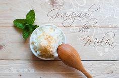 Granizado ligero de melón. #recetas #granizado #helado #melon http://www.cuidemonos.net/2014/06/granizado-ligero-y-sencillo-de-melon.html