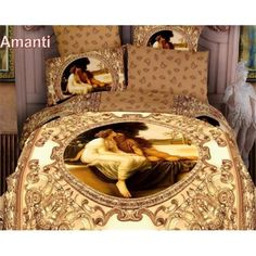 Deal #11 - 2 Decorate DM422K Amanti 6 Pieces King Size Duvet Cover Set by Dolce Mela $178.90 Was: $232.70 (You save $53.8) Decorate your bedroom with this classy bedding ensemble featuring a print of a romantic oil painting surrounded by abstract royal art patters. http://thebedroomstoreatjewellsonlinemall.blogspot.com
