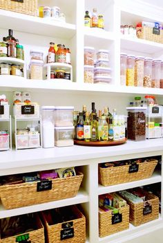 Masterclass with Clea Shearer and Joanna Teplin of The Home Edit Organization-is … – Genius Pantry Organization Ideas