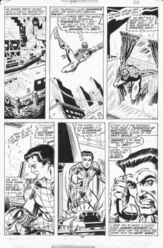 The Amazing Spider-man # 212 Romita Jr & Mooney Comic Art