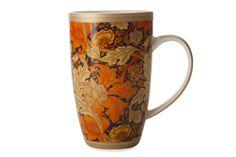 Maxwell & Williams - William Morris Coupe mugs Serveware, Tableware, William Morris, Acanthus, Home Art, Mugs, Orange, Amp, Patterns