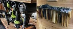 From power to hand tools and beyond, discover the top 80 best tool storage ideas. Explore cool organized garage and workshop designs. Garage Tool Organization, Garage Tool Storage, Corner Storage, Workshop Storage, Garage Tools, Bike Storage, Garage Workshop, Outdoor Storage, Storage Spaces