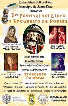 Festival del Libro y Encuentro de Poetas 2014 @ Juana Díaz #sondeaquipr #festivaldellibro #encuentrodepoetas #juanadíaz