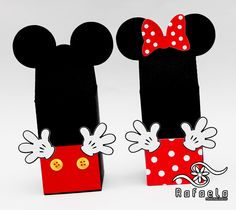 Cx leite Mickey e Minnie