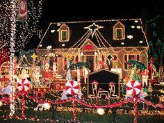 Super cute Christmas house