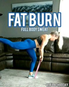 Try this fun and effective full body resistance band workout at home! Try this fun and effective full body resistance band workout at home! Hiit Workout At Home, Pilates Workout, Sweat Workout, Workout Body, Workout Fitness, Exercise At Home, Hiit Workout Routine, Hiit Workout Videos, Tummy Workout