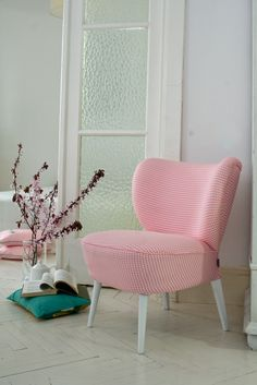 "Vintage Chair 60's  ""Pinkie Pie"""