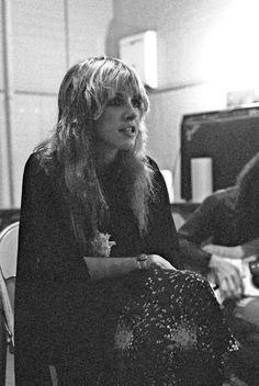 Stevie Nicks | backstage @ the Houston Music Hall • Houston, TX • December 3rd, 1975