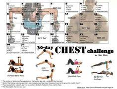 30 Day Chest Challenge