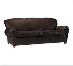 The greatest sofa on earth! The Manhattan Sofa, Leather Espresso