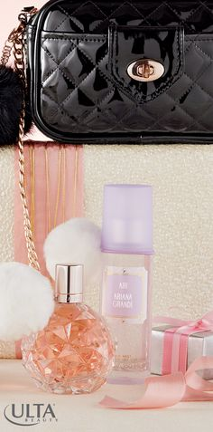 Need the perfect new scent? Try ARI by Ariana Grande. It opens with sparkling fruits and an ultra-feminine floralcy, passionately spun with musks, woods, and an addictive hint of marshmallow.
