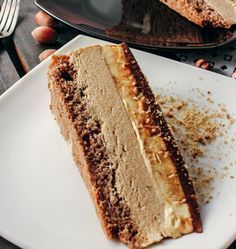 Best Cake Recipes, Sweet Recipes, Sweet Desserts, Easy Desserts, Wine Recipes, Baking Recipes, Hazelnut Recipes, Torta Recipe, Torte Cake