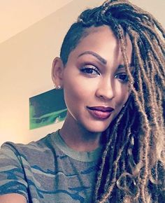 Faux Locs never looked so good! @meagangood