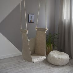 Hairstyles For Women In WroughtIronPatioChairs HangingSwingChair Hanging hammock chair, Hanging