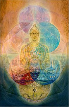 Buddha of Compassion. Large art print of the painting. Limited edition. About 75…