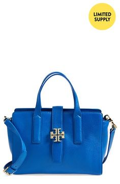 Tory Burch 'Plaque' Satchel available at #Nordstrom
