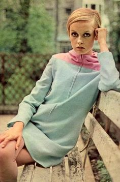 At sixteen, I was a funny, skinny little thing, all eyelashes and legs. And then, suddenly people told me it was gorgeous. I thought they had gone mad. - Twiggy, English model - find more Twiggy and other 1960s fashion model pictures at http://fashioninthe1960s...