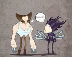 Yakovlevs Funny Illustrations wolverine pic on Design You Trust