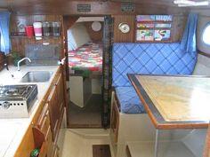 Coronado 25, 1970 sailboat interior