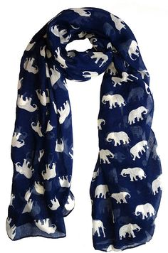 Elephant print scarf! LOVE this!!!