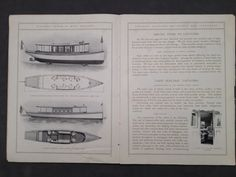 Rare Antique 1905 Elco Fleet Catalog Brochure Yachts & Electric Launches Boats | eBay